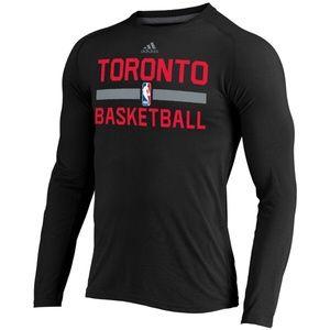 ADIDAS Toronto Raptors Long Sleeve tee